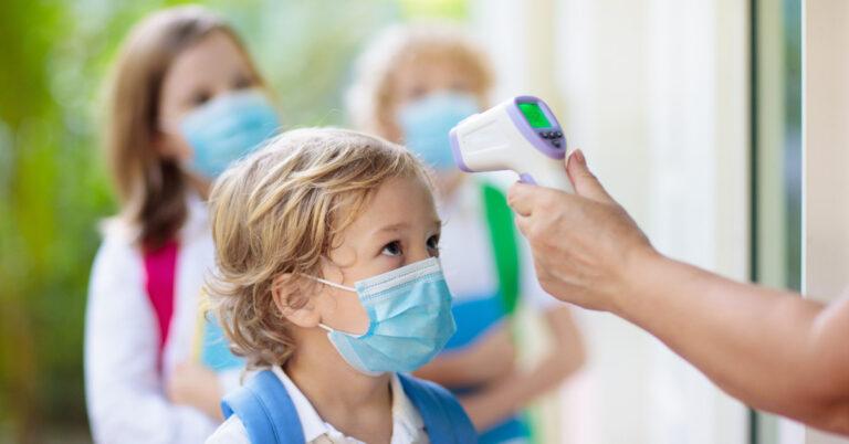 COVID-19 Quarantine of children that were exposed at school