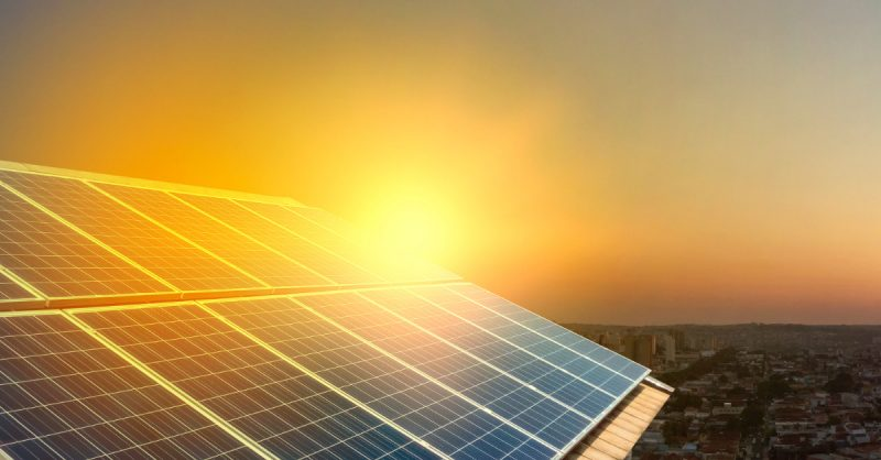 Solar panel in sun, solar company adds 75 new jobs in OKC